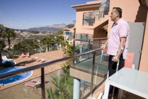 uitzicht balkon medifit reha spanje