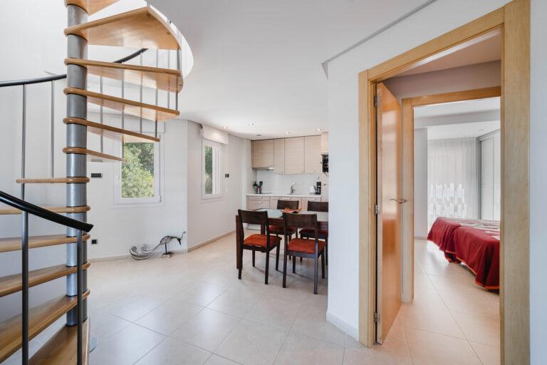 appartement medifit interieur keuken slaapkamer
