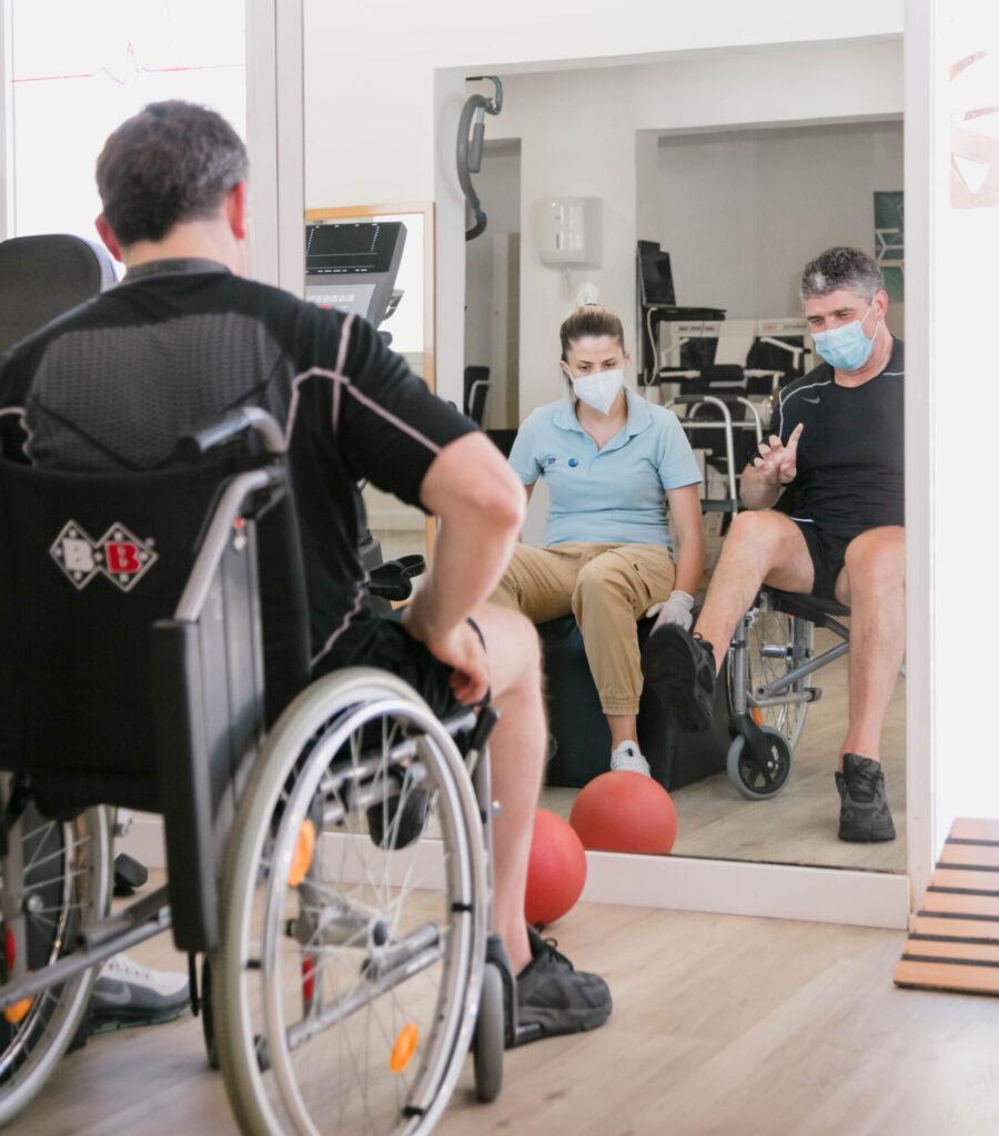Medifit wheelchair